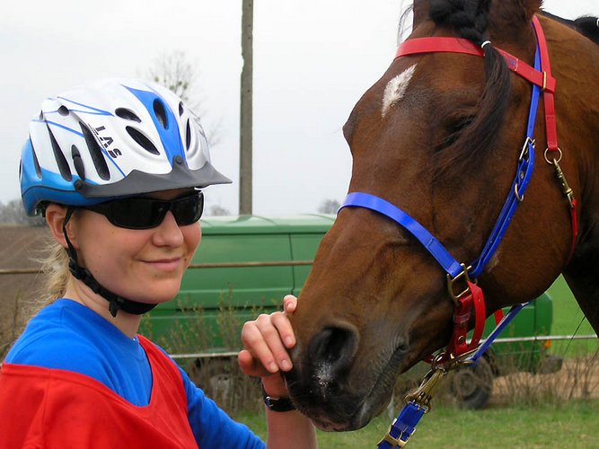 Ola Ciesielska i Shanokk, fot. Monika Mikulska