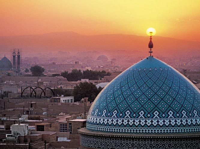 Yazd. Photo: IAHE