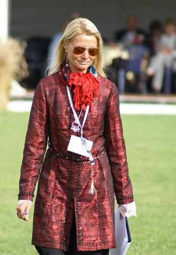 Irina Stigler, Janów Podlaski 2014, by Krzysztof Dużyński