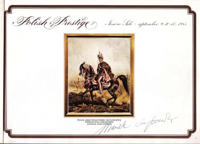 Obejrzyj reportaż z aukcji Polish Prestige 1985