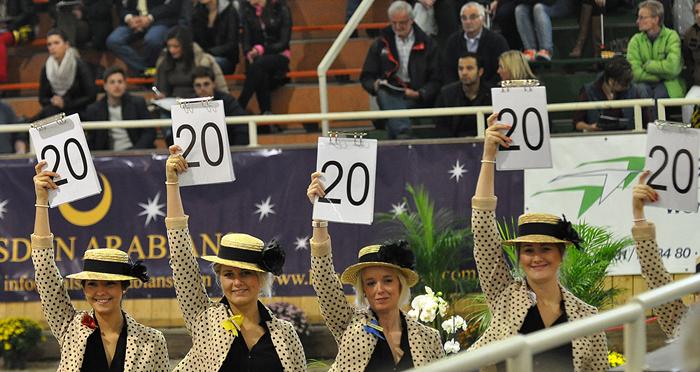 The El Dorada score in Aachen 2012, by Katarzyna Dolińska