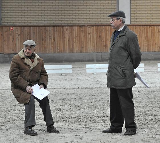 Władysław Byszewski i Jerzy Budny. Fot. Katarzyna Dolińska