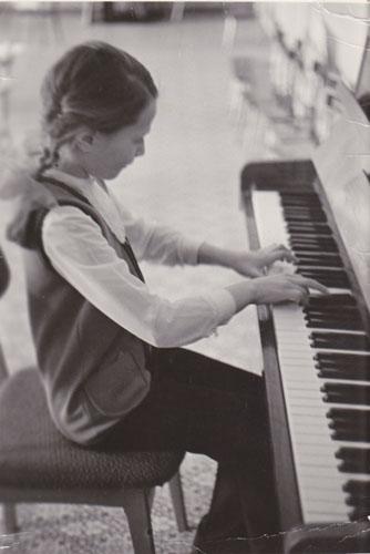 Irina Stigler's home archive photo