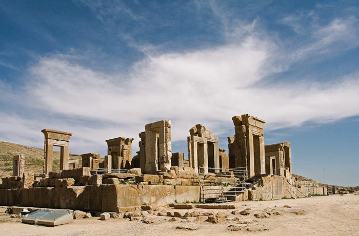 King Darius Palace, Persepolis. Photo: IAHE
