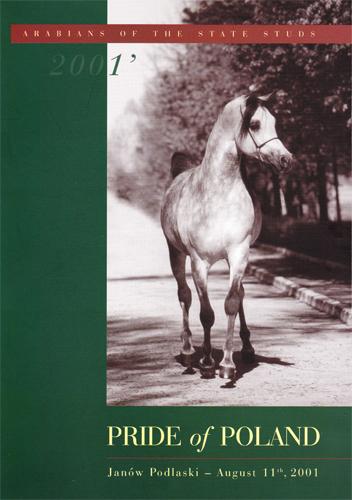 Pride of Poland 2001 catalogue cover