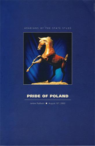 Pride of Poland 2003 catalogue cover