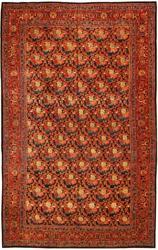 Antique Bidjar carpet. Photo: IAHE