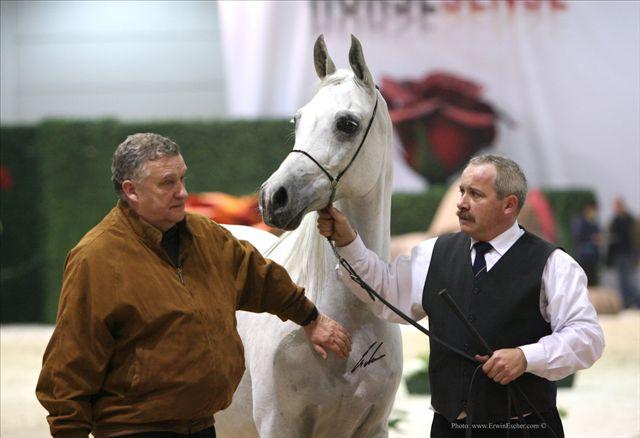 Dyr. Jerzy Białobok z Zagroblą, z prawej Mariusz Liśkiewicz. Werona 2007, fot. Erwin Escher