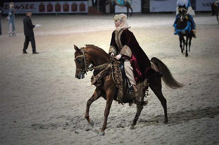 Arabian Native Costume podczas Equisport World Cup 2009 – Ewelina Starosz i Galahad, fot. Gosia Mąkosa