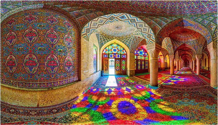 Nasir al-Mulk Mosque, Shiraz. Photo: IAHE