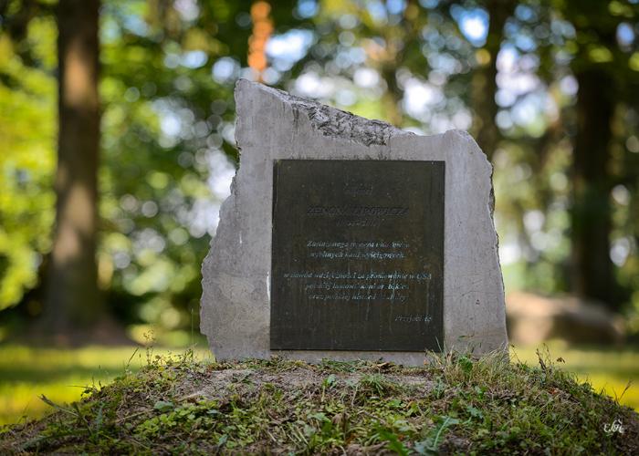 Tablica pamięci Zenona Lipowicza, fot. Ewa Imielska-Hebda