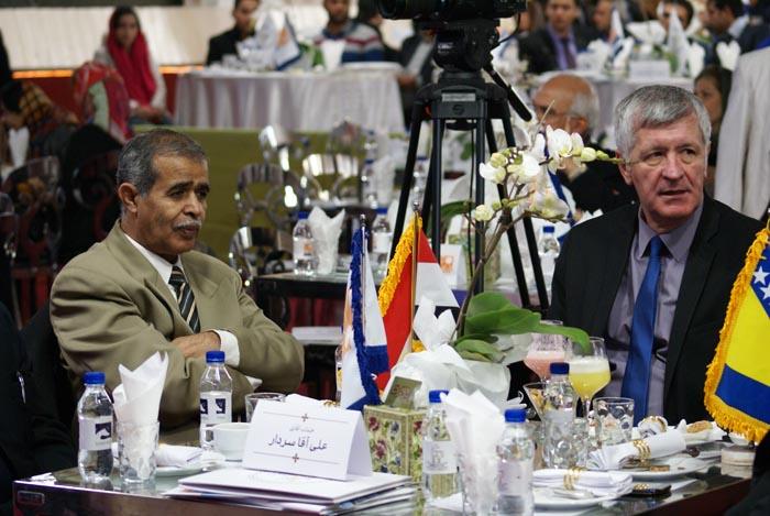 Ambasadorowie w Iranie wśród gości imprezy. Fot. Mateusz Jaworski