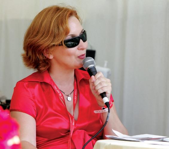 Anna Stojanowska podczas czempionatu narodowego w Janowie Podlaskim 2007, fot. Joanna Jonientz
