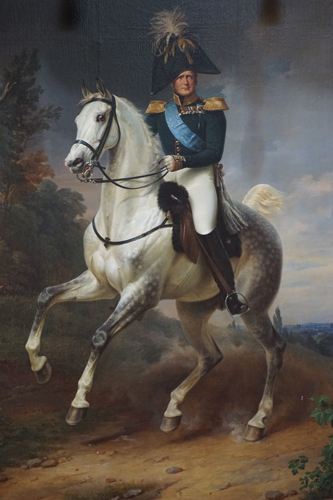 Alexander I of Russia, by Franz Krüger (1837), The Hermitage. By Monika Luft