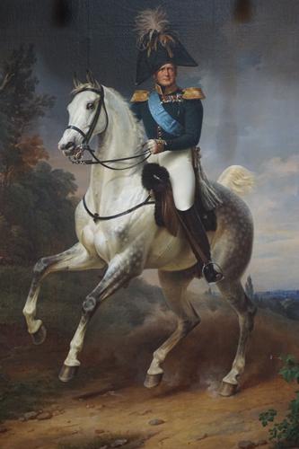 Car Aleksander I, pędzla Franza Krügera (1837), Ermitaż. Fot. Monika Luft