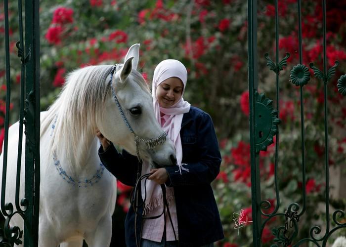 Alya'a Abass z Nour Hayaty Hamdan, fot. Joanna Jonientz