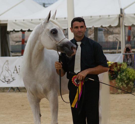 Badawieh AA z Frankiem Spoenle, fot. Monika Luft