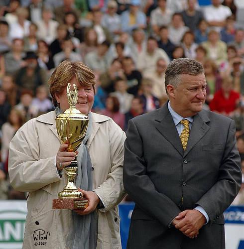 Urszula i Jerzy Białobokowie, Pokaz Narodowy, Janów 2005, fot. Wiesław Pawłowski