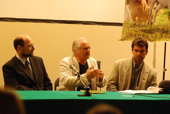Zygmunt Śliwa, Tadeusz Budziński i Krzysztof Czarnota, fot. Mateusz Jaworski