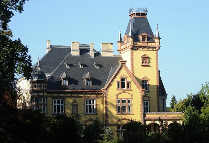 Zamek w Sickendorf, fot. Sylwia Iłenda
