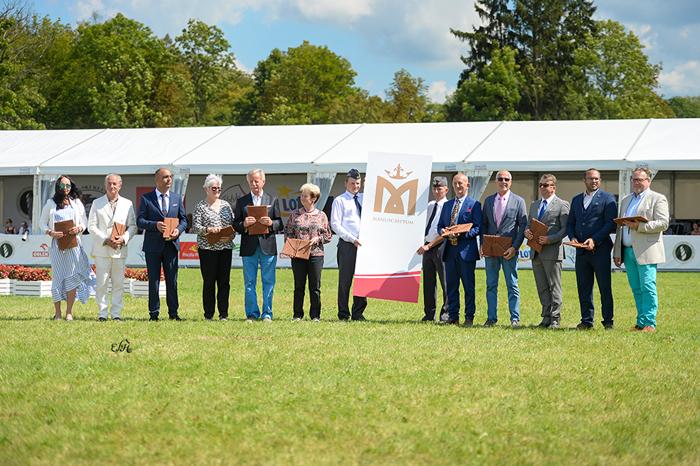 Sędziowie i inne osoby oficjalne, fot. Ewa Imielska-Hebda