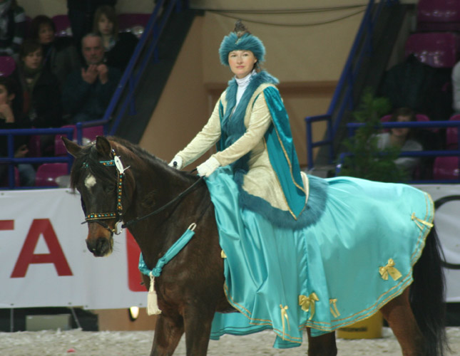 Konie arabskie na Torwarze po raz drugi (12-14.03)