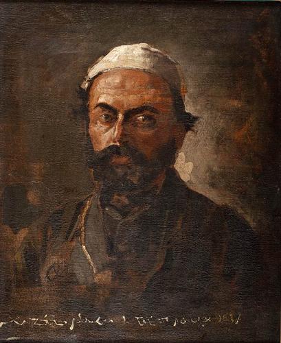 Aleksander Orłowski. A portrait of Emir Wacław Rzewuski. Private collection