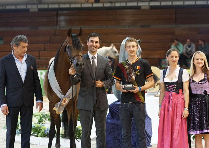 Espressivo, Gold Champion Stallion, by Krzysztof Dużyński