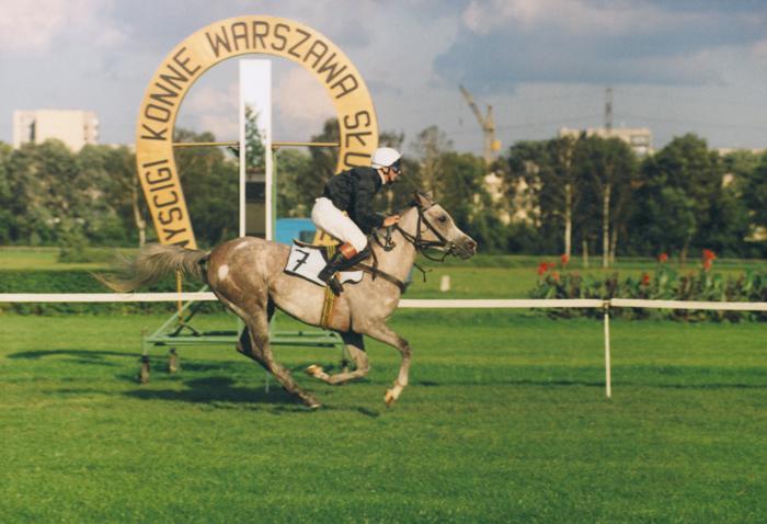Farah-Buffi – zwycięstwo w OAKS 1994. Fot. z archiwum J. Grootings