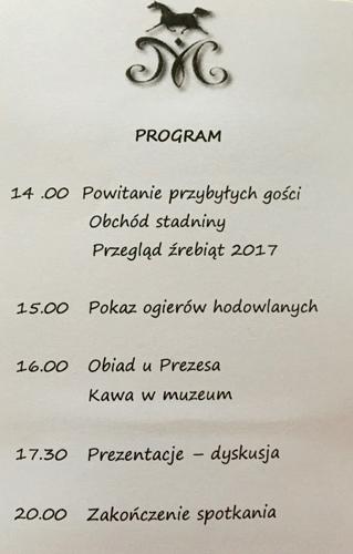 Program spotkania zamkniętego