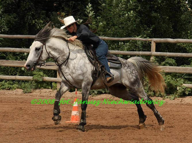 Dana Provaznikova na koniu Gery (hucuło-arab), fot. Janusz Niechwiadowicz