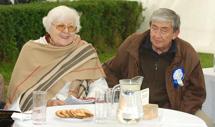 Mrs. Izabella Pawelec-Zawadzka with Mr. Andrzej Ou, Białka 2009. By Mateusz Jaworski