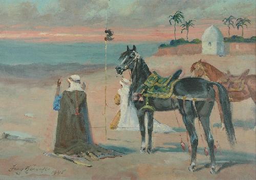 Płótna Kossaków na aukcji