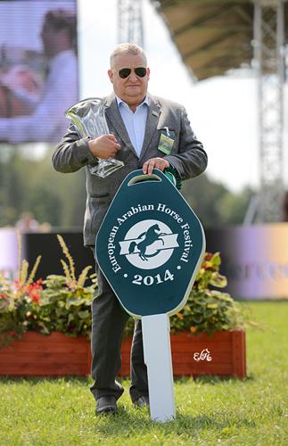 Al Khalediah European Arabian Horse Festival (22-23.08.2014). Mamy w Polsce nowy pokaz! Cztery mercedesy dla Michałowa