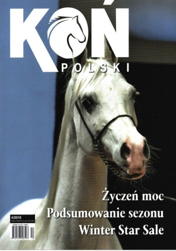 Okładka Konia Polskiego ze zdjęciem Karoliny Misztal