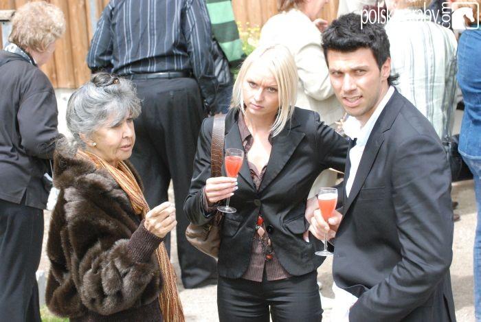 Lenita Perroy (z lewej) i Mario Matt z przyjaciółką, fot. Mateusz Jaworski