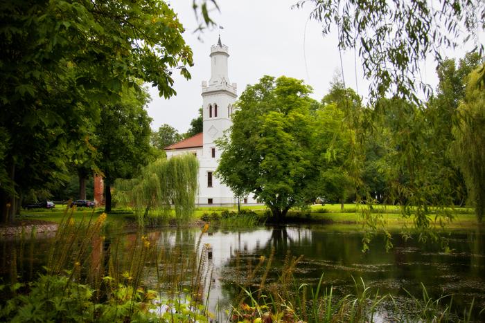 The Palace of Chrcynno, by Michał Bałkowski