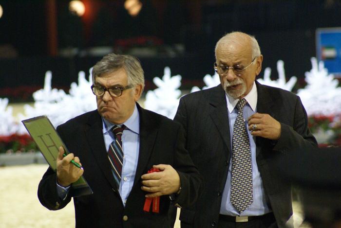 Two of eight judges: Marc Veray and Dr. Nasr Marei, by Krzysztof Dużyński