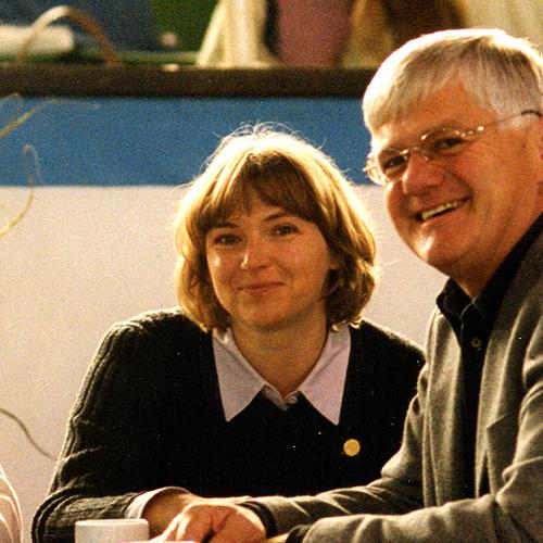 Monika Heckinger i Reinhard Sax w Aachen. Z arch. Sax Arabians