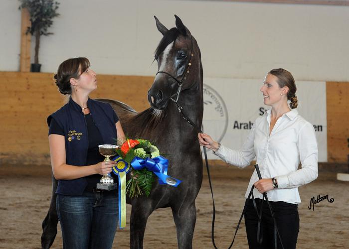 OKS Bentoza z Liną Kristoffersen i Victorią Palmaer, fot. Anette Mattsson