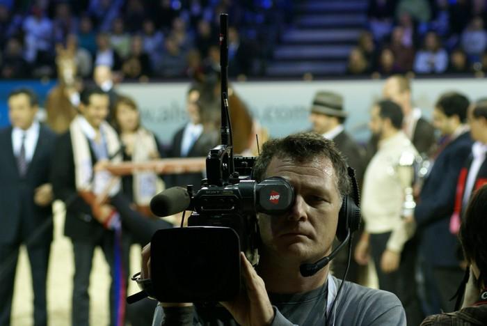 The press was present during the whole show. By Krzysztof Dużyński