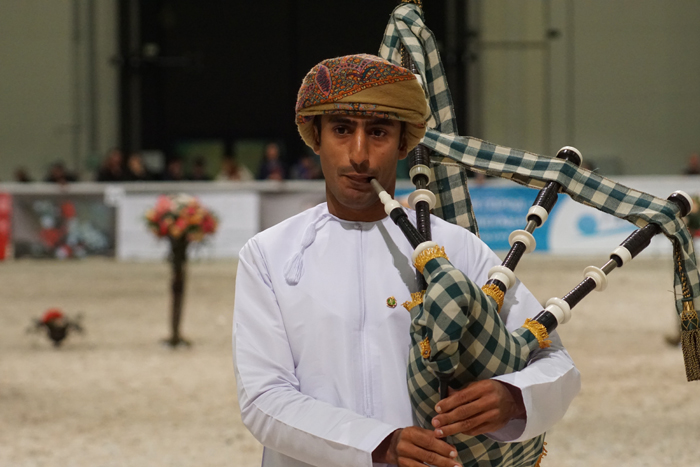 A musician from Oman, by Monika Luft