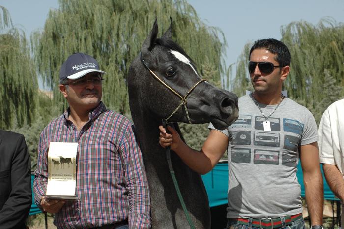 Soraya with owner Aram Azarmibejand. Archive photo
