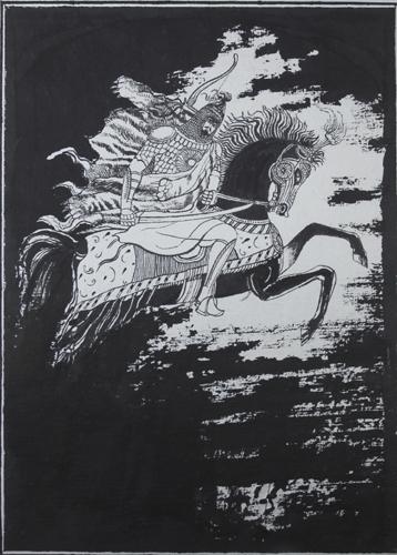 Szota Rustaweli - Rycerz w tygrysiej skórze. Autor: prof. Andrzej Strumiłło