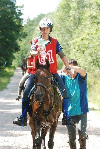Winograd i Agata Karaśkiewicz, 2 m. na 120 km, fot. Mateusz Jaworski