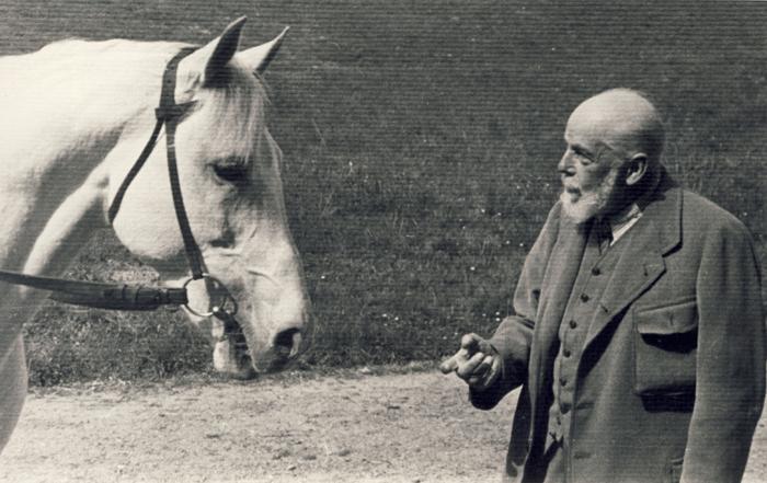 Kaszmir z Włodzimierzem Czartoryskim z Pełkini, fot. archiwum