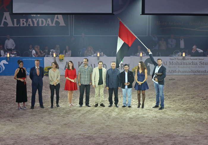 Puchar Narodów dla ekipy Zjednoczonych Emiratów Arabskich, fot. Sylwia Iłenda