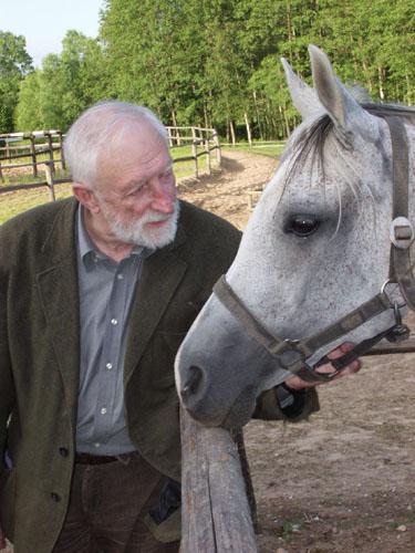 Prof. Andrzej Strumiłło z Czariną, Maćkowa Ruda 2004, fot. Arkadiusz Szaraniec