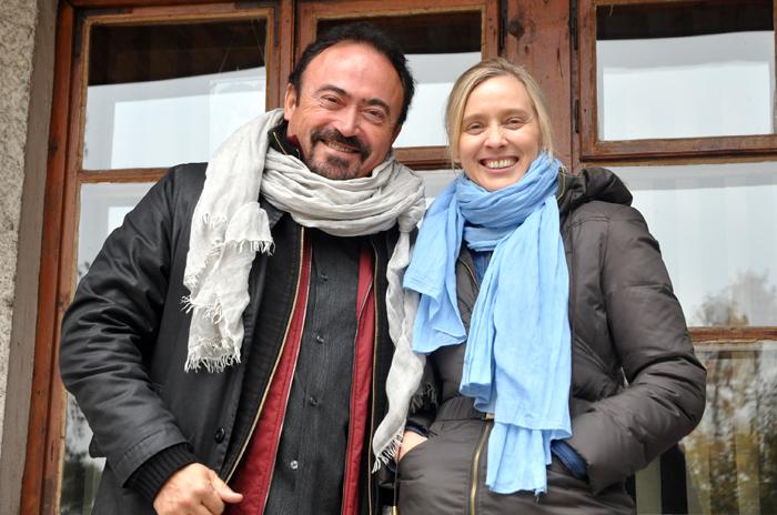 Albert Sorroca i autorka wywiadu Monika Luft, fot. Katarzyna Dolińska