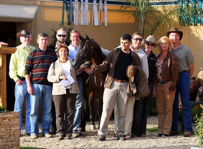 Ali Gazal LA i uczestnicy wyprawy, fot. Nancy Pierce